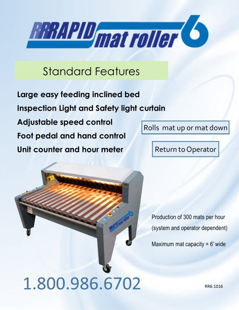CDF Systems Rapid Roller 6 brochure front